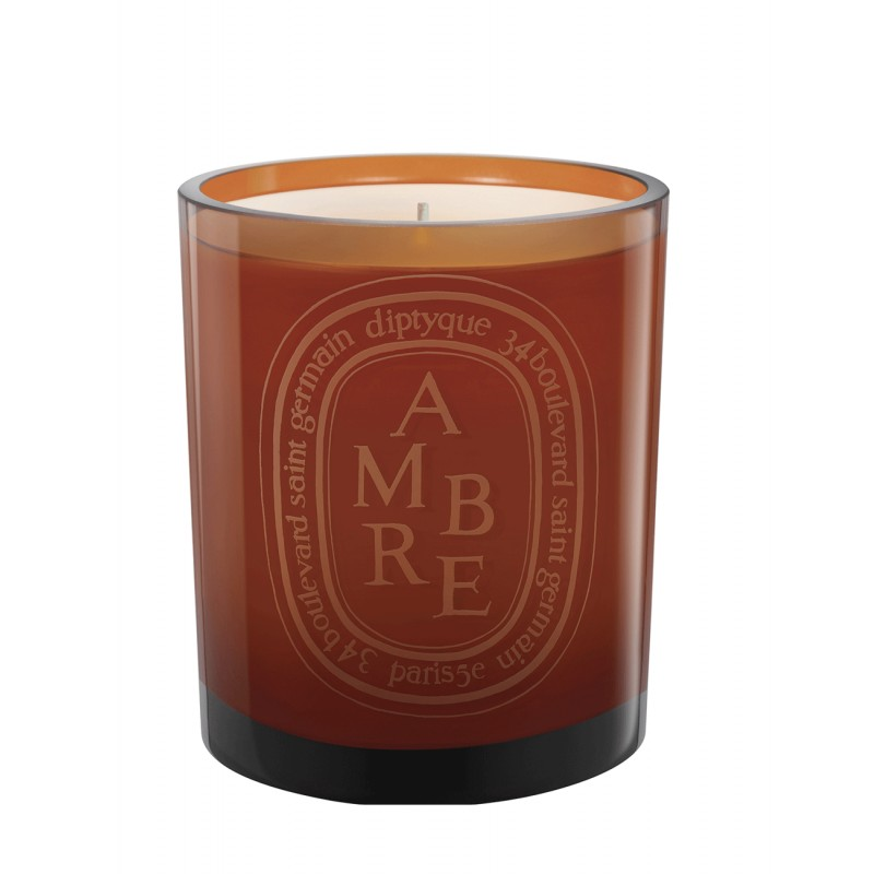 Coloured candle Ambre /...