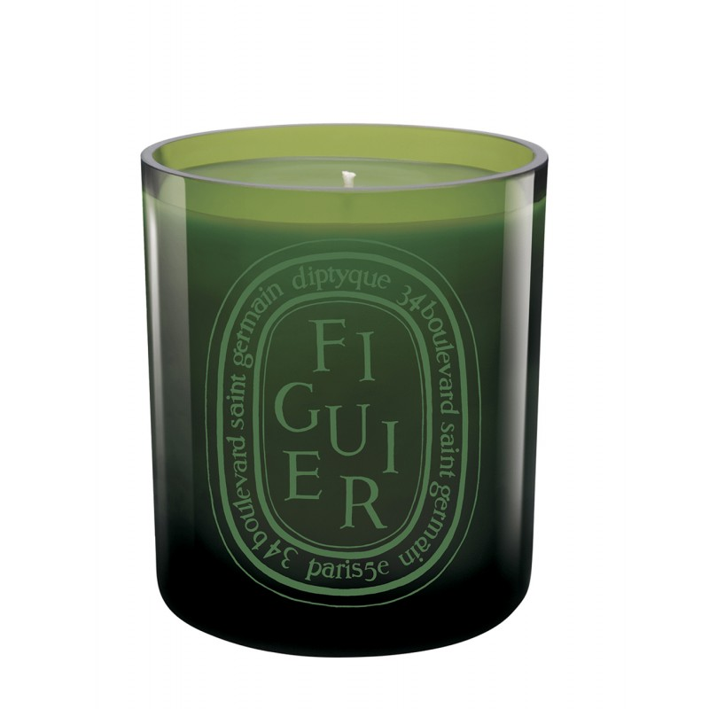 Coloured candle Figuier/...