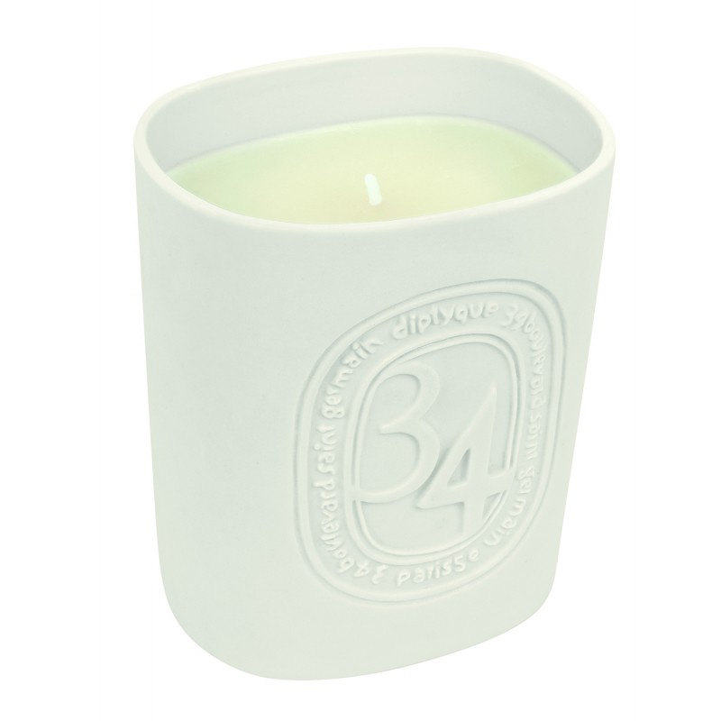 Scented candle 34 boulevard...