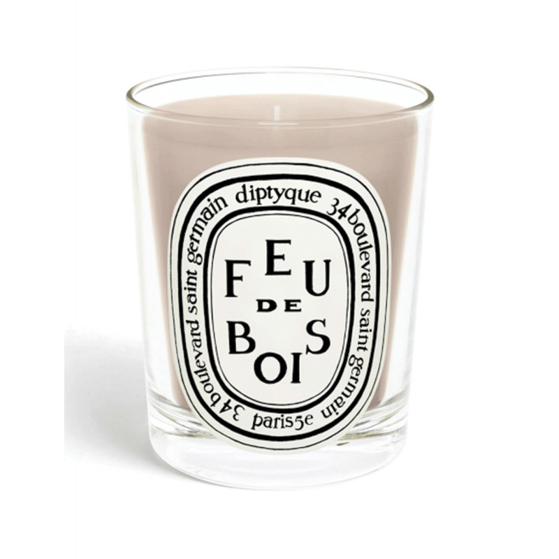 Scented candle  Feu de Bois...