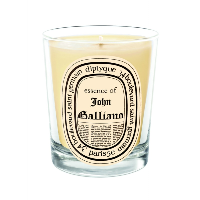Scented candle John Galliano