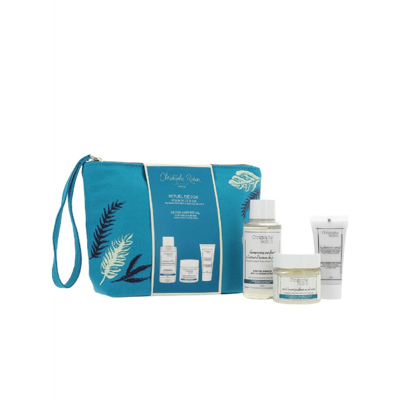 Detox hair ritual travel kit